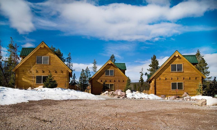 The Cabins at Bear River Lodge - Christmas Meadows, Utah: Two-, Three-, or Five-Night Stay with Snowmobile-Rental Options at The Cabins at Bear River Lodge in Summit County, Utah