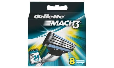 8 o 16 ricambi Gillette Mach 3 originali da 12,90 € (fino a 56% di sconto)