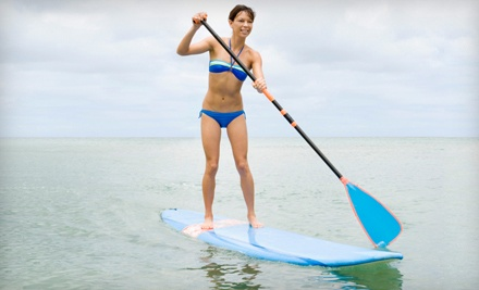 Standup-Paddleboard Rental Package (a $60 value) - Malibu Paddle Surf in Santa Monica