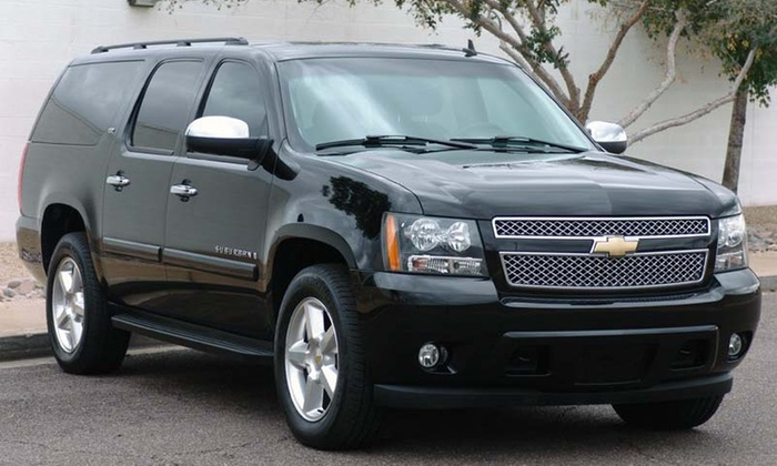 Speedy Transports  Luxury SUVs - New Orleans: $73for a Six-Passenger Luxury SUV - Transport to or from New Orleans Airport from Speedy transports luxury SUVs