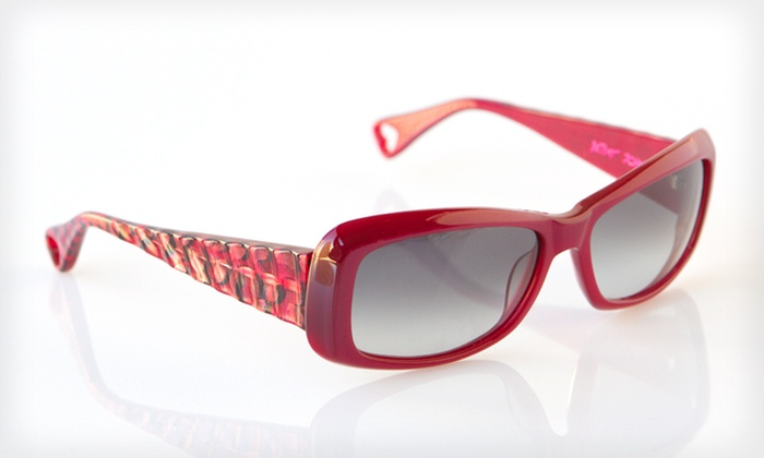 Ferocious Sunglasses: $39 for Ferocious Sunglasses by Betsey Johnson ($225 List Price). Two Colors Available.