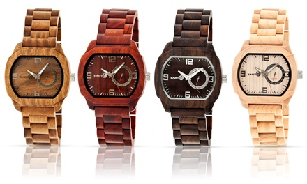 Earth Wood Scaly Wood Watch