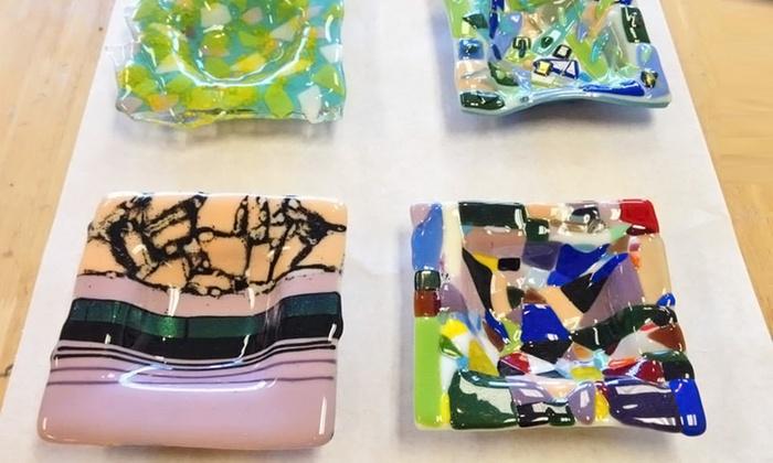 Kil'n Time Studio - Waukee: BYOB Glass Fusion Class for Two or Four at Kil'n Time Studio (Up to 53% Off)
