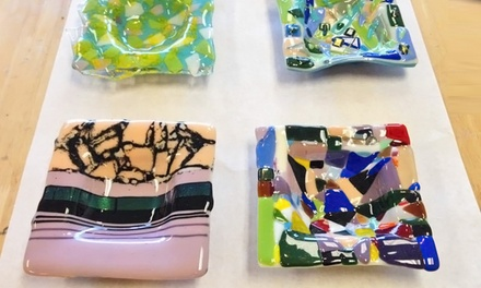 BYOB Glass Fusion Class for Two or Four at Kil'n Time Studio (Up to 53% Off)