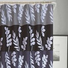 Dainty Home Kate Fabric Shower Curtain