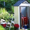 Arrow Sheds Designer Series Metro Steel Garden Shed
