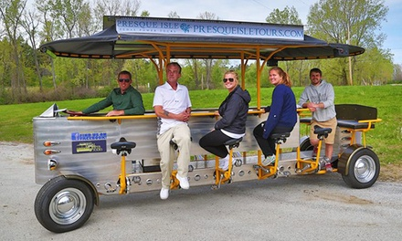 $30 for Early Bird Group-Bike Tour for Two from Presque Isle Pedal Power Tours ($50 Off)