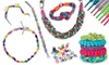 Jewelry Craft Kits with Zippers or Laces: Jewelry Craft Kit in Imaginista Lace-Up or Zip It! for $8.99 or $10.99