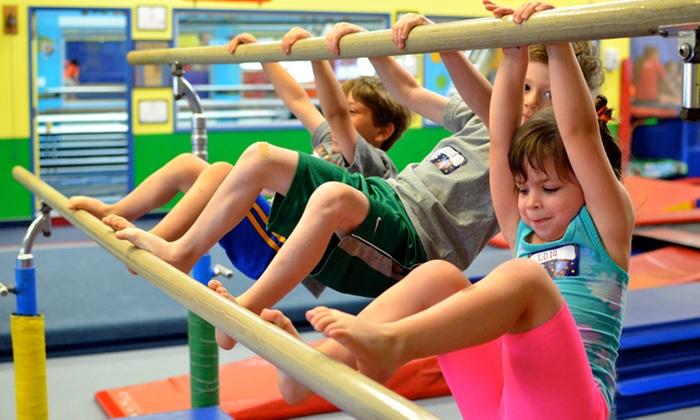 Fun & Fit Gymnastics Santa Clarita - Fun & Fit Gymnastics Santa Clarita: Month of Classes or Birthday Party at Fun & Fit Gymnastics Santa Clarita (Up to 52% Off)