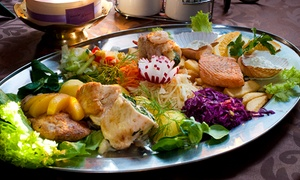 Restauracja Mini-Max: Patera mięs i ryb (69,99 zł) z noclegiem oraz śniadaniem za 139,99 zł i więcej opcji w Restauracji Mini-Max
