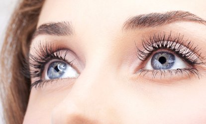 Eyelash Extensions with Eyebrow Shape and Tint at Chironda Beauty Clinic