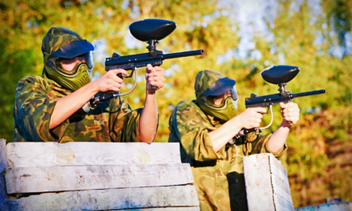 Florida Extreme Sports - Green Acres: Paintball for One, Two, or Four with Rental Gear and 200 Paintballs Each at Florida Extreme Sports (Up to 64% Off)