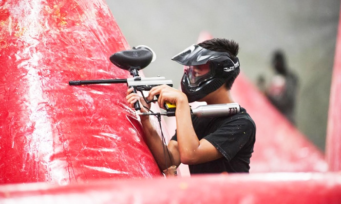 San Diego Paintball Park - San Diego Paintball Park: Paintball Package for One, Four or Eight at San Diego Paintball Park (Up to 68% Off)