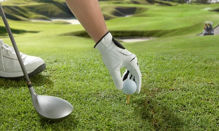 Garden golf de gadancourt gadancourt idf groupon for Golf du bic forfait