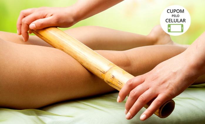 Maison Simone – Setor Sudoeste: 4, 8 ou 12 visitas com drenagem, massagem relaxante e bambuterapia