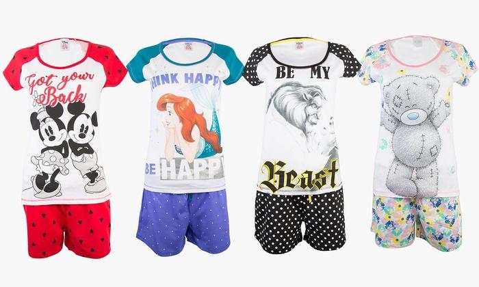 9b6da1c4c8ea1 Pyjama femme Disney et Marvel   Groupon
