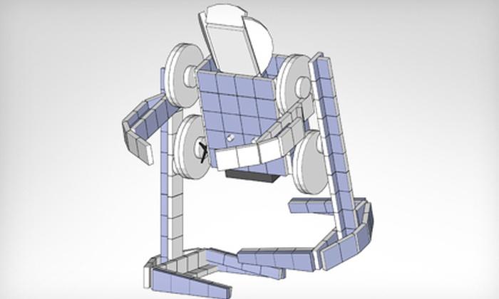 Robotics for Fun - Temescal: Retro-Racer or Rhino Robot-Building Kit, or Humanoid Robot-Building Kit from Robotics for Fun (Up to 53% Off)