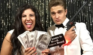 Selfie Station: Three- or Five-Hour Photo Booth Rental from The Original Selfie Station (Up to 50% Off)