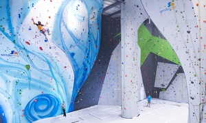 Sender One Climbing: Intro to Indoor Rock Climbing Class for One, Two, or Four at Sender One Climbing (Up to 58% Off)
