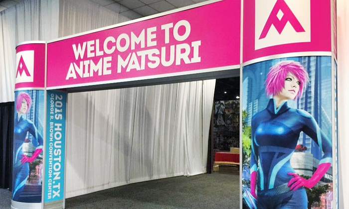 Anime Matsuri Convention - Downtown: $49 for One Event Pass to Anime Matsuri Convention on February 26–28 ($70 Value)