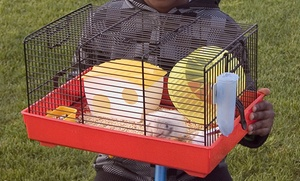One-story Hamster Cage With Accessories