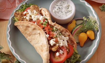 Mediterranean Cuisine at Jimmy the Greek's (Half Off). Two Options Available.