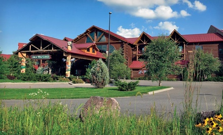 Rockford: One- or Two-Night Stay with Water-Park Passes at Great Wolf Lodge – Wisconsin Dells in Wisconsin Dells, WI