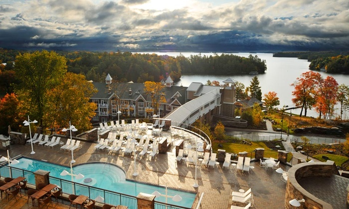JW Marriott The Rosseau Muskoka Resort & Spa - Minett, ON: 1- or 2-Night Stay with C$100 Resort Credit and Spa Access at JW Marriott The Rosseau Muskoka Resort & Spa in Ontario