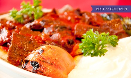Four-Course Turkish Meal for Two at Topkapi Turkish Restaurant (Up to 47% Off). Two Options Available.