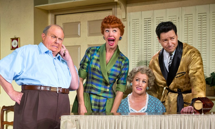 """""""I Love Lucy: Live on Stage"""" - Wang Theatre: """"I Love Lucy: Live on Stage"""" at Citi Emerson Colonial Theatre on December 17–22 (Up to 72% Off)"""