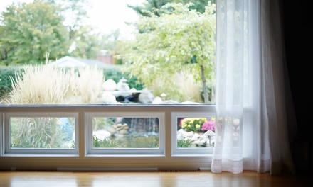 Interior and Exterior Window Cleaning for One- or Two-Story Home from Just Windows (50% Off)