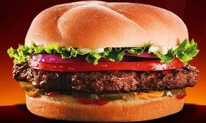 $5 for Burgers at Back Yard Burgers at Back Yard Burger- Multi Market, plus 9.0% Cash Back from Ebates.