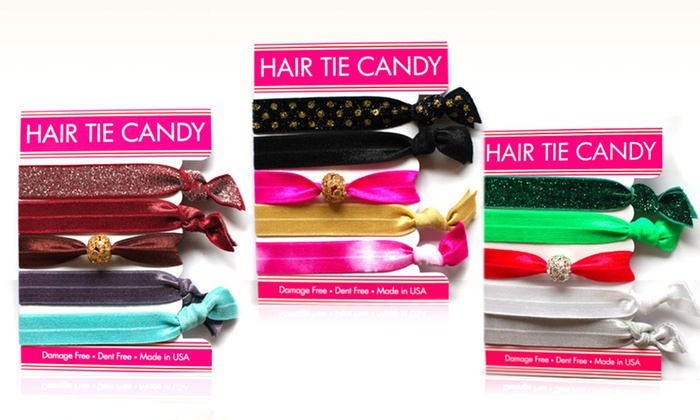 Hair Tie Candy 5-Pack of Holiday Hair Ties: Hair Tie Candy5-Pack of Holiday Hair Ties. Multiple Color Assortments Available. Free Returns.