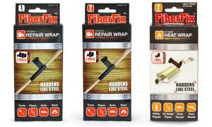 FiberFix 100x Stronger Than Duct Tape Repair Pack: Fiber Fix Multi-Packs - 100x Stronger Than Duct Tape