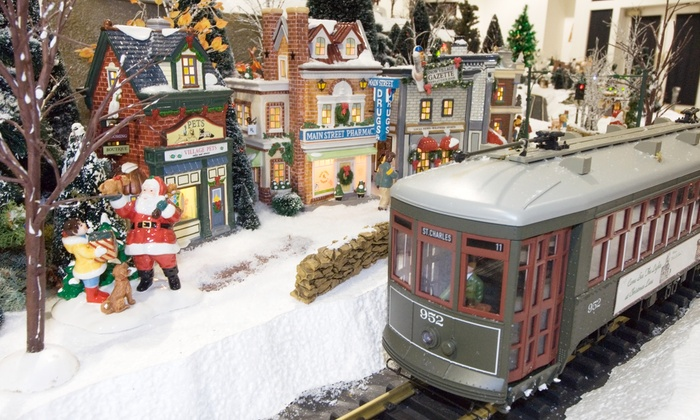 EnterTRAINment Junction - EnterTRAINment, Inc.: 44% Off Holiday-Themed Model-Train Outing for Two or Four at EnterTrainment Junction