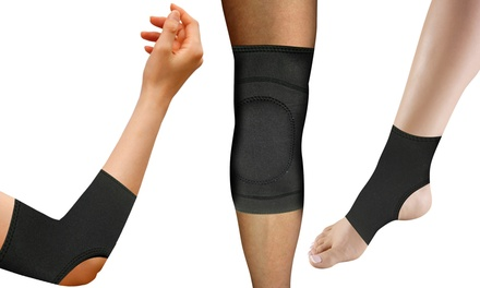 Copper Comfort Knee, Ankle, or Elbow Compression Brace (1- or 2-Pack, or Bundle with 1 of Each)