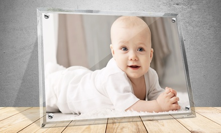 Personalized Photos in Crystal Frames from PrinterPix. Multiple Options Available from $12.99–$99.99.
