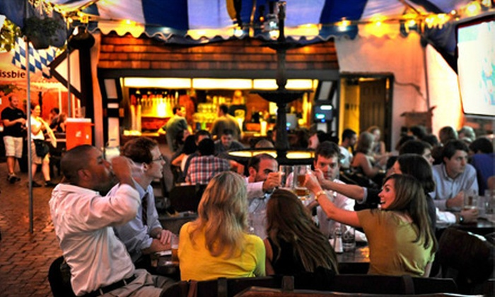 Biergarten Haus - Capitol Hill: $20 for $40 Worth of German Food and Beer at Biergarten Haus