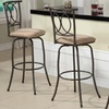$109.99 for Set of Three Metal Swivel Stools