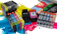Cartuchos de tinta compatibles con impresoras Brother, Canon, Epson y HP