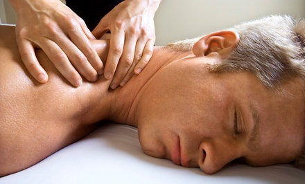 C$109 Men's Deep-Tissue, Scalp, and Hand-and-Foot Massage at Sabai Thai Spa (C$199 Value)