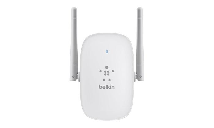 Belkin N300 Dual Band Wifi Range Extender Groupon