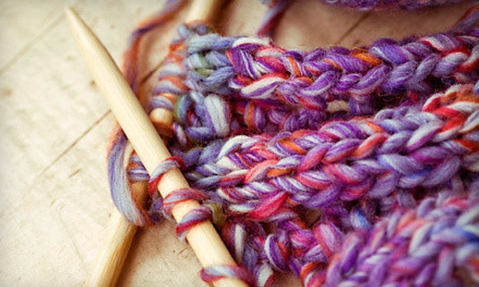 Tempe Yarn & Fiber - Tempe Yarn & Fiber: $16.99 for a Three-Hour Learn to Knit Workshop at Tempe Yarn & Fiber ($35 Value)