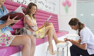 Beauty Indulgence: Shellac Manicure, Pedicure or Both at Beauty Indulgence (Up to 50% Off)