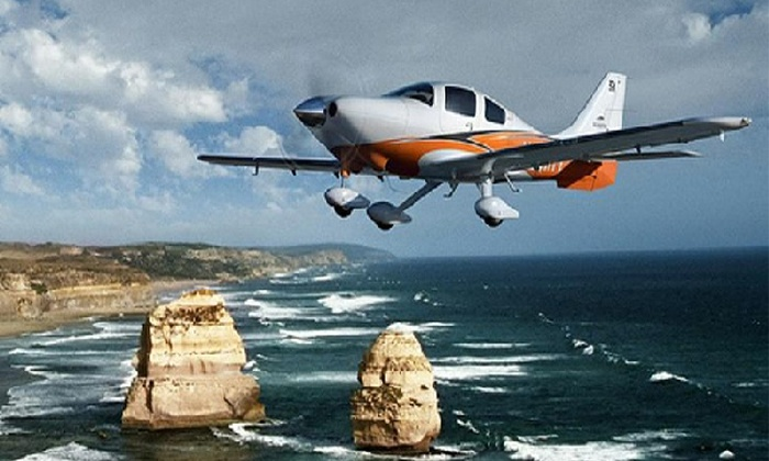 Silver Aviation - Torrance: $129 for 35-Minute Plane Excursion over Southern California Coast from Silver Aviation ($300 Value)