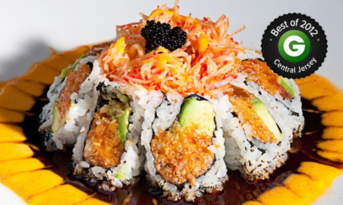 PURE Restaurant & Lounge - Princeton: $35 for $70 Worth of American and Asian Cuisine at Pure Restaurant & Lounge