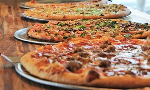 Papi's Pizza Roma: Lunch Slices or Pizza Meal for Two at Papi's Pizza Roma (Up to 55% Off). Three Options Available.