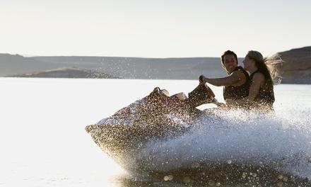 Session de 20 minutes de jet-ski et de 10 minutes de bouée tractée pour 1 ou 2 personnes dès 49,90 € à l'Espace Quilly