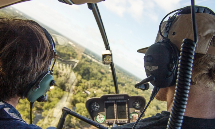Heli Aviation - Whitfield: Helicopter Tour for Three or Flight Simulator for One from Heli Aviation Florida, LLC (Up to 49% Off)