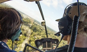 Heli Aviation: Helicopter Tour for Three or Flight Simulator for One from Heli Aviation Florida, LLC (Up to 41% Off)